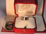 ブランド買取の質屋出品 Cartier「カルティエ」アストロラブリング 750WG