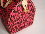 ブランド買取の質屋出品「ルイ・ヴィトン」グラフィティ(スティーブン・スプラウスコレクション) スピーディ30 フューシャ(ピンク)/M93704