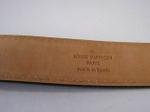 ブランド買取の質屋出品『ルイ・ヴィトン』サンチュール・ジーンズ 80/M6813W