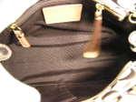 ブランド買取名古屋の質屋出品 「COACH」 コーチ・ハンプトンズ シグネチャーミディアムキャリオールトートバッグ /10507/カーキ