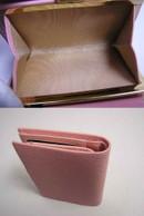 ブランド買取/金買取 名古屋の質屋出品 『シャネル』二つ折りガマ口財布/キャビア・ピンク