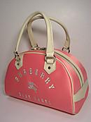 ブランド買取/金買取 名古屋の質屋出品 「バーバリー」BURBERRY・ミニボストンバッグ/ブルーレーベル/ピンク