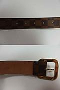 『ルイ・ヴィトン』 ダミエ サンチュール トレゾール ベルト/95cm/M9729
